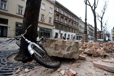 Forte scossa di terremoto in Croazia, magnitudo 6.3