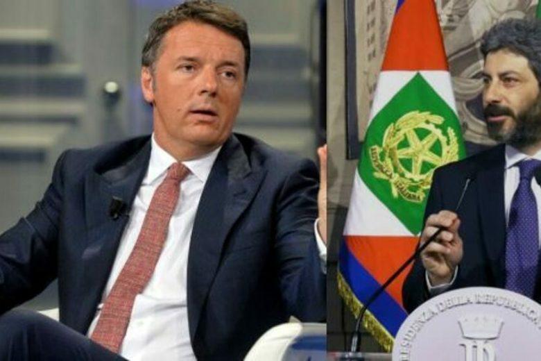 """Il M5S teme i lavori forzati e Fico si genoflette  a Renzi. Crimi: """"Conte non si discute, ma il Mes via dal tavolo"""""""