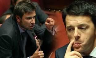 """Si passa ai ricatti. Renzi? Di Battista: """"È un accoltellatore. O lui o me"""""""