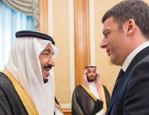 """Renzi incontra il  Riad a Fiumicino col jet privato: rincorre il """"rinascimento"""" arabo ma disobbedisce alle disposizioni Covid"""