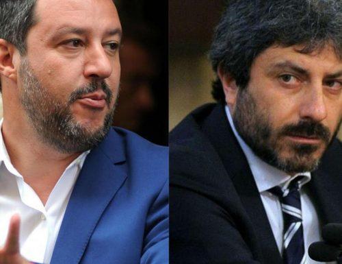 """Salvini a valanga su Fico: """"Anche io ho fatto l'esploratore tra i boschi, ma avevo 12 anni. Lui è imbarazzante"""""""