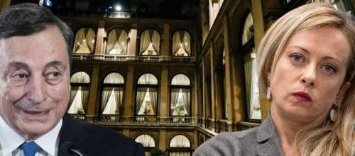 """Giorgia Meloni smaschera  Draghi: """"Sul Dl Sostegni ritardi, silenzi e passerelle del Pd: proprio come Conte"""""""