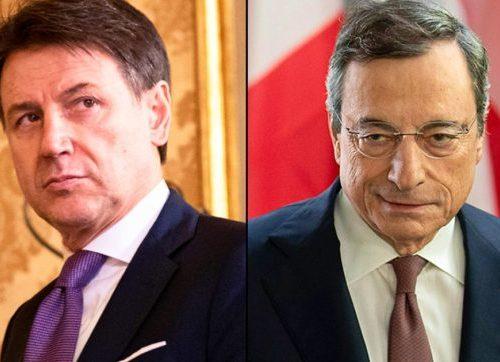 Tra Draghi e Conte scegliere non saprei: le grandi imprese incassano di più, mollichine alle piccole