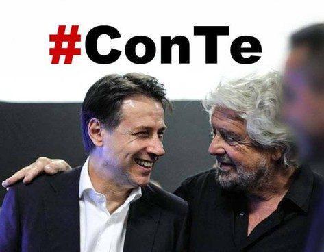"""M5S da ridere: nasce il nuovo gruppo """"Italia più 2050"""". Ma Conte e Grillo fanno le santarelle e fingono di non capire"""
