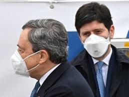 """L'indiscrezione, Draghi """"scarica"""" Speranza: troppi guai, meglio piazzarlo altrove…"""