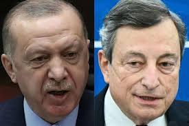 """Tra Erdogan e Draghi volano stracci: """"Io dittatore? Parole indecenti e maleducate. Ha rotto i nostri rapporti con l'Italia"""""""