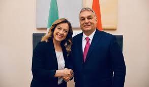 """Orban punta su  Giorgia Meloni: """"È un'alleata e un'amica. Contiamo su di lei anche per il futuro"""""""