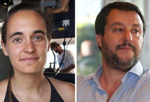 """[Nulla di fatto] Il giudice archivia il finto vittimismo di Carola Rackete: """"Salvini non istigò a delinquere contro di lei"""""""