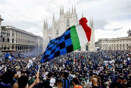 Dopo 11 anni l'Inter torna a vincere lo scudetto