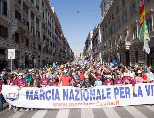 """Marcia per la Vita, a Roma il corteo in favore degli ultimi: """"Siamo qui per i diritti di chi non ha voce"""""""