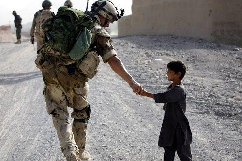 Bala Mourghab, Afghanistan, Capitan Nessuno, l'eroe delle TF-45 e il bimbo..