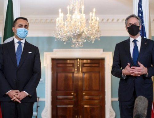 […] Gli Usa sculacciano l'Italia, Blinken prende per le orecchie Di Maio