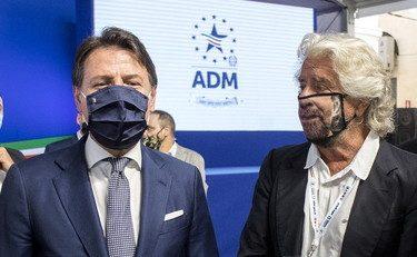 Confusione totale in casa 5 Stelle, Grillo e Conte verso l'addio….