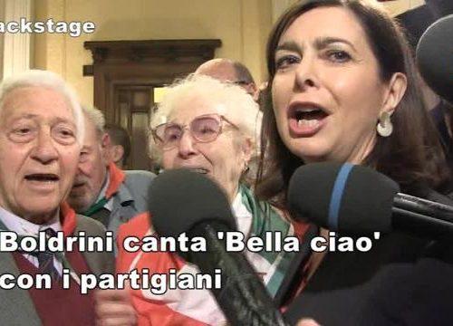 """L'ultima follia dei compagni: """"Bella Ciao andrà cantato per legge"""". Boldrini & Co vogliono renderlo """"inno istituzionale"""". Ecco che cosa recita la proposta di legge"""