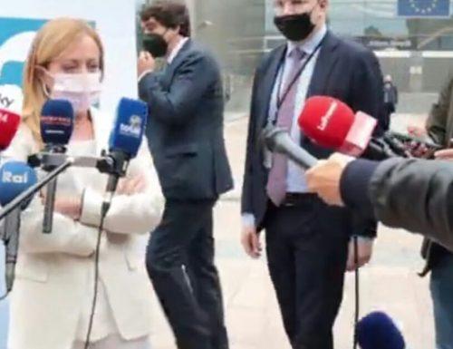 """Bruxelles, Giorgia Meloni epocale: """"FdI-Ecr è la casa di chi difende identità, sovranità e confini"""""""
