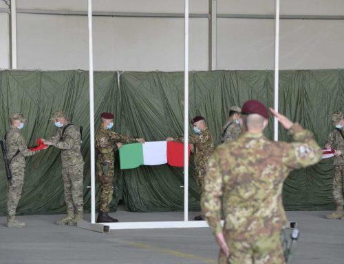 """Capitan Nessuno a ith24: """"Oggi c'è stato l'ammmaina bandiera, torniamo a casa. Ma un Esercito è un ramo dello stesso albero, l'albero della Libertà. Un Esercito è l'estensione di una bandiera, di una Patria.."""""""