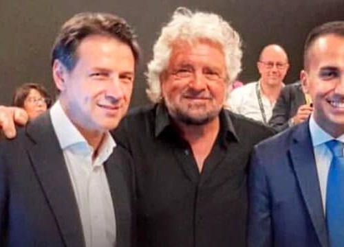 Le contraddizioni del M5S non hanno precedenti nella storia politica. Scelgono Conte come premier ma Grillo ora dice che è un incapace?