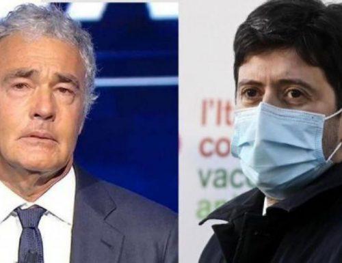 """I cosiddetti due pesi e due misure, Giletti a valanga contro il ministro Speranza: """"Ha fatto cacciare la mia giornalista dalla…"""""""