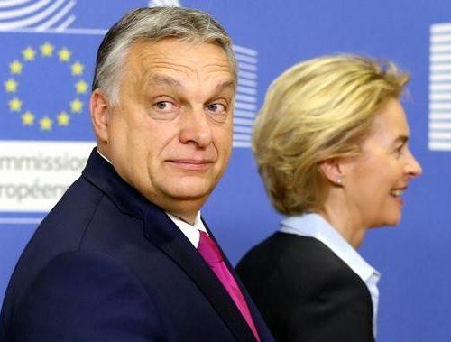 """[…] Bruxelles, la signora  Von der Leyen punta il dito contro l'Ungheria: """"Orban discrimina le minoranze"""". Ma Victor Orban sta difendendo solo la sovranità del proprio Parlamento"""
