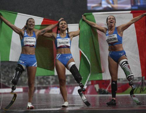 Paralimpiadi, non c'è due senza tre nei 100 metri. Sul podio anche la soldatessa ferita in Afghanistan