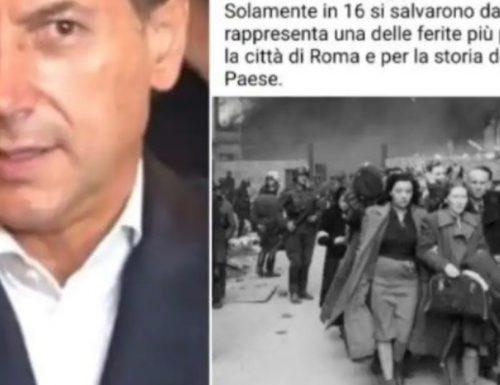 Giuseppi Conte spara l'ennesima cazzata sulla Shoah: parla del ghetto di Roma e pubblica una foto di Varsavia