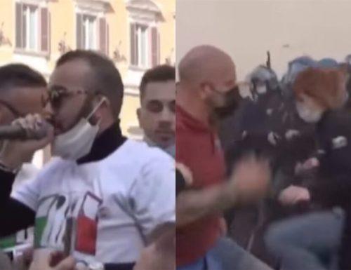 """Scontri a Roma, finisce in cella il leader di """"Io Apro"""""""