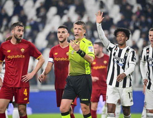 È caos sulla partita Juve-Roma. Ecco l'audio tra Orsato e Cristante nel tunnel degli spogliatoi